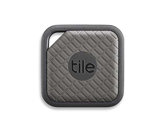 Tile Sport - Key Finder. Phone Finder. Anything Finder (Graphite) - 4-pack