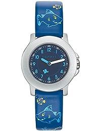 Esprit Jungen Armbanduhr Datum klassisch Quarz Leder ES103454009