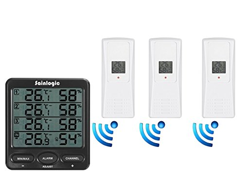 sainlogic-wireless-indoor-outdoor-8-channel-thermo-hygrometer-with-three-remote-sensors