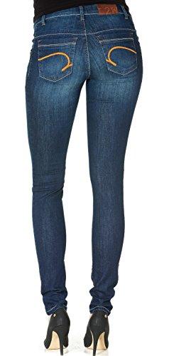 Love2Wait Umstandsjeans Sophia leichter Boot Cut Jeanshose Damen Umstandsmode Jeans Dark Wash