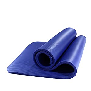 PROIRON Fitness Matte für Zuhause Fitnessmatte rutschfest Gymnastikmatte rutschfest NBR Material 183cm x66cm x1cm 180cm x 61cm x 15mm