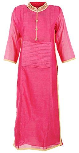 Shree Krishna Boutique Women's Silk Kurta