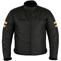 Motorradkombi Biker Motorrad Textil Kombi wasserdichte Jacke+Hose (XL)