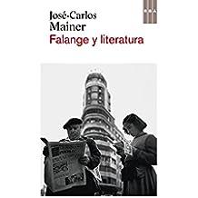 Falange y literatura (NARRATIVAS)