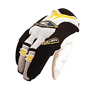 Cemoto 6212082XL Aerotek Glove, Yellow, Size 2XL