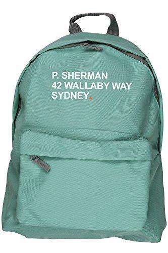 hippowarehouse-sac-a-dos-p-sherman-42-wallaby-way-sydney-31-x-42-x-21-cm-capacite-18-litres-vert-tai