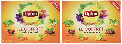 Lipton Coffret Thé 120 Sachets (Lot de 2x60 Sachets)