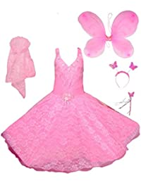 25de35a03f160 Pinks Girls' Dresses: Buy Pinks Girls' Dresses online at best prices ...