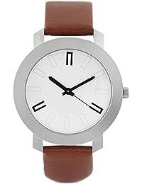 Patexhub Fashionable Stylish Watch Latest White Analog Watch For Boys & Men (PATEXHUBZHV)