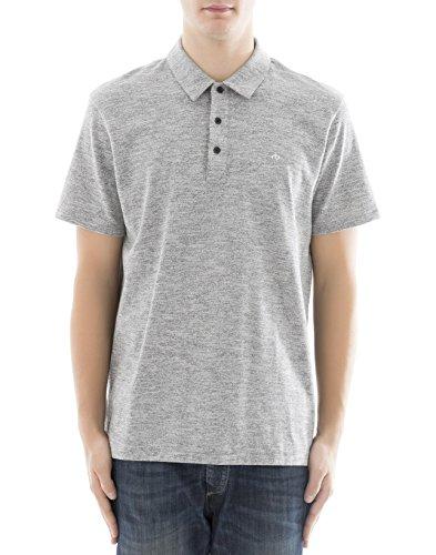 Rag & Bone Herren M000t076c030 Grau Baumwolle Poloshirt (Und Bone Herren Rag)