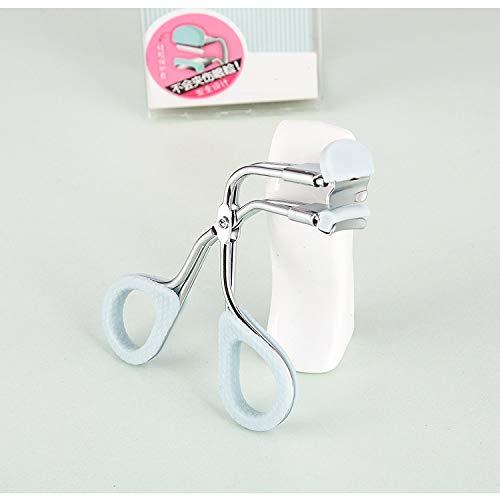 EEvER Umweltfreundliches Make-Up-Tool Wimpernzange Wimpern Clip mit Refill Pad entwickelt perfekt für gerade Flache Wimpern dramatische langlebige Wimpern Curls - Curl Wimpernzange Refill Pads