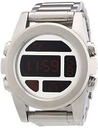 Nixon Herren-Armbanduhr XL The Unit SS Chronograph Quarz Edelstahl A3601263-00