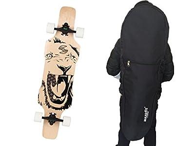 : MAXOfit® Longboardtasche 120cm mit Reißverschluss, 66481