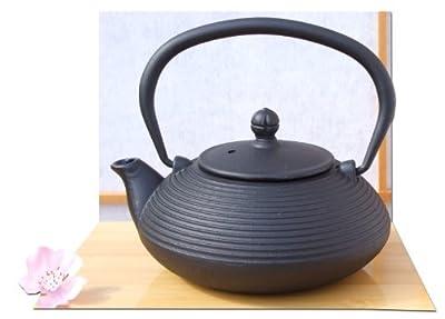 Théière en fonte Zen style japonais Noir 0,4 l