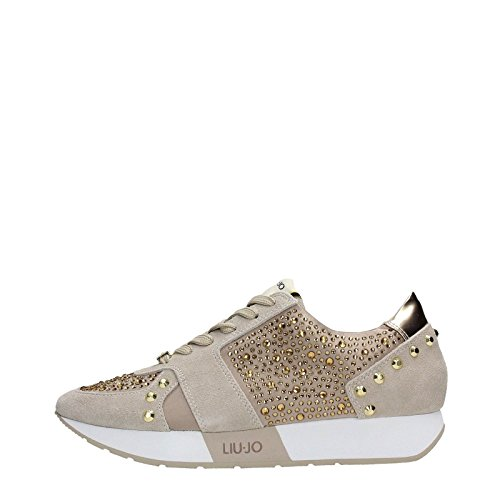 Sneaker running Liu-Jo Aura S16195 beige coloniale P/E 2016 (39)