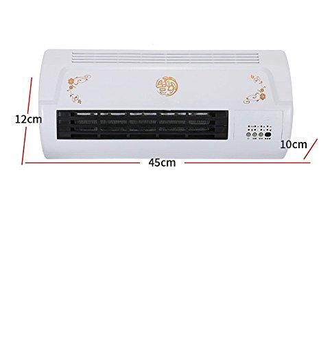 LZK Control Remoto Ventilador de Doble Uso pequeño Aire Acondicionado hogar frío...