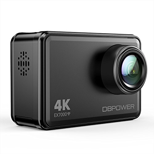 DBPOWER EX7000 Action Kamera 4K Sports Cam Panasonic Sensor 14MP 2
