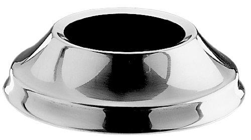Base per bastardella semisferica in acciaio inox