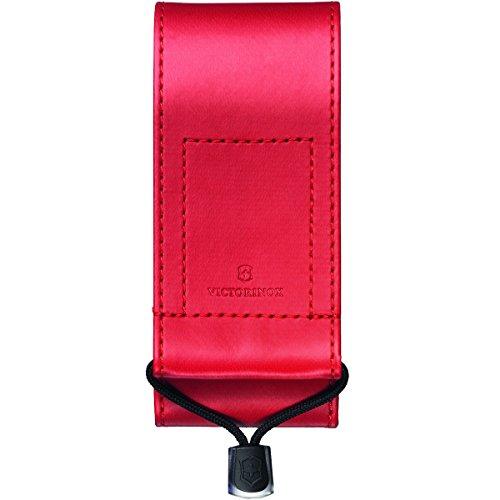 Victorinox Zubehör Kunstleder Etui rot zu Feststellmesser 111 mm Swiss Tool Mantel, One Size