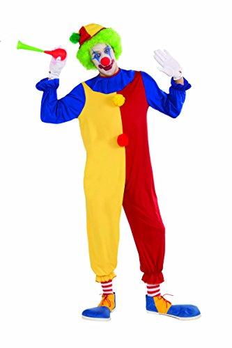 Big Top Polka Dot Clown Costume Adult -