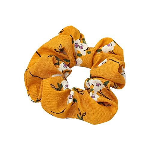 Likecrazy Damen Stirnbänder Frauen elastisches Haar Haarbänder Mädchen Pferdeschwanz Inhaber Haar Band Zubehör Haarband Haarschmuck für Alltag Yoga Sport