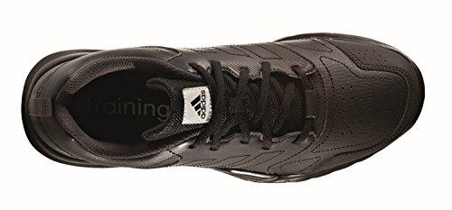 adidas Essential Star 3 M, Scarpe da Ginnastica Uomo Nero ( Negbas/Neguti/Ftwbla)