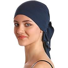 573cb3a6b58e Deresina Bandana unisexe en coton et bambou pour perte de cheveux, cancer,  chimiothérapie