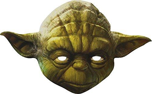 Karnevalsbud - Star Wars Yoda Maske, - Kreative Für Erwachsene Halloween-kostüme