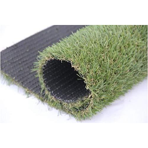 Mysida Artificial Grass WJ Künstlicher Teppich Echte Rasenverschlüsselung Grüne Balkonmatte Künstlicher Kindergarten Zierpflanze Wandteppich Gefälscht (Color : T 2cm, Size : 2 * 4m)