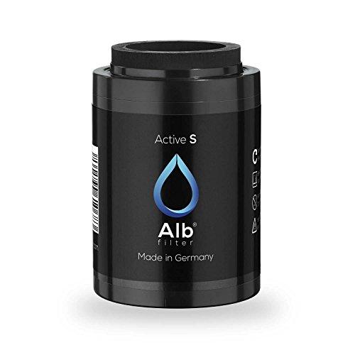 Alb Filter® Active-S Trinkwasserfilter Ersatzkartusche reduziert Schadstoffe. Gegen Geruch, Geschmack und Farbe im Leitungswasser. Made in Germany