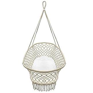 LG&S Cuna de bebé, cómoda Cuna de algodón Colgante Cuna portátil Hamaca giratoria para guardería de bebé Interior al Aire Libre