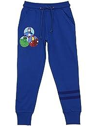 Avengers Boys' Regular Fit Cotton Trousers AV1FKJ1741_Royal Blue_9-10 years)