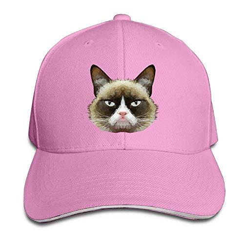 fboylovefor Grumpy Cat Classic Cotton Hat Caps Unisex Fashion Baseball Cap Adjustable Hip Hop Hat