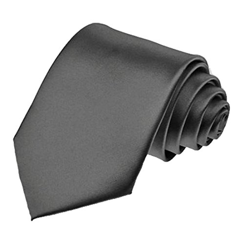 new-plain-coloured-mens-ties-21-colours-available-handmade-wedding-fashion-graphite-grey-mens-tie