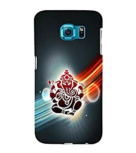 iFasho Modern Art Ganesh Back Case Cover for Samsung Galaxy S6 Edge
