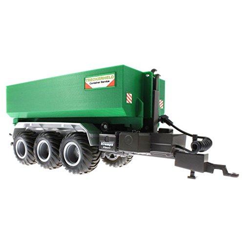 Mulden Container für Siku Control 32 Krampe Hakenlift (6786) (Grün)
