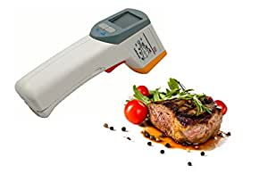 Thermom tre num rique thermom tre thermom tre infrarouge for Thermometre laser cuisine