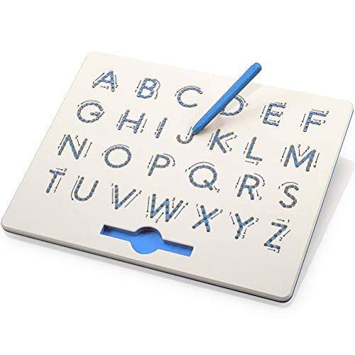 Egosy Tragbare magnetische Kugel-Skizzen-Auflage-Tabletten-Zeichenplatte mit magnetischem Griffel
