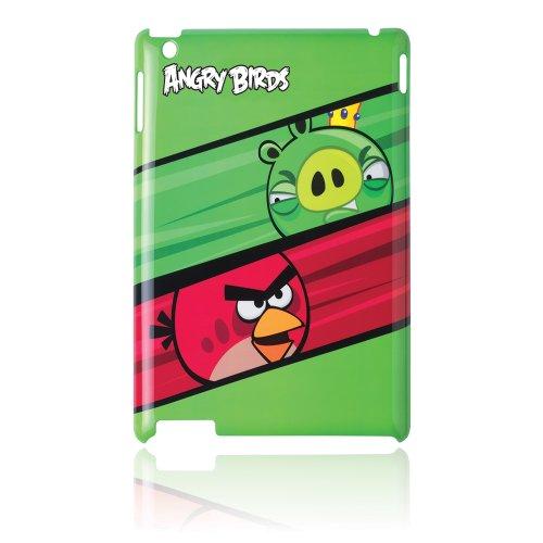 Gear4 IPAB201US Schutzhülle für iPad 2, Motiv Angry Birds Red vs Pig (Birds Pig Angry)