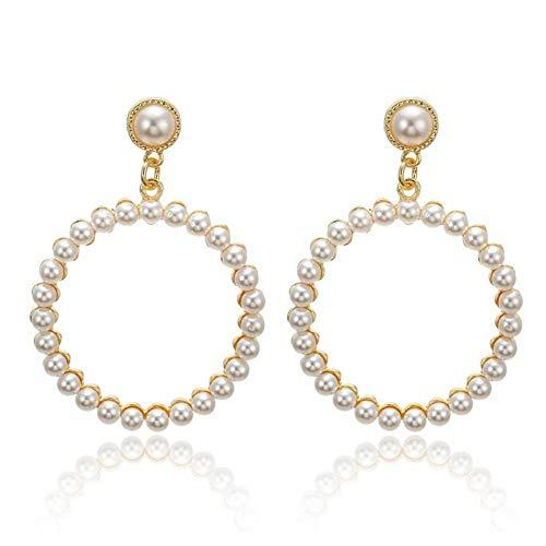 FLORVEY Ohrringe Trendy Ohrringe für Frauen/Statement/Long/Dangle/Pearl/Round/Drop Ohrringe Female oorbellen brincos