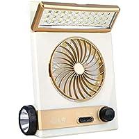 Mr. Fragile Suministro De Ventilador Eléctrico Solar Multi-Función De Carga del Ventilador Eléctrico Mini Ventilador Eléctrico Portátil