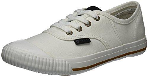 Icepeak Frank, Baskets Basses Athlétiques Pour Femmes Blanches (blanc Optique)