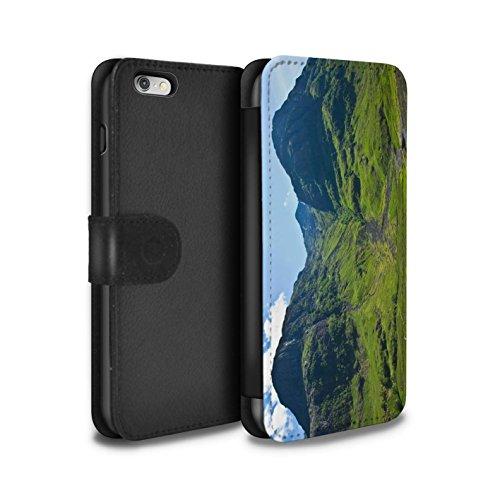 Stuff4 Coque/Etui/Housse Cuir PU Case/Cover pour Apple iPhone 6S+/Plus / Pack 14pcs Design / Campagne Écossais Collection Vallée