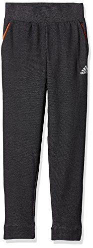 adidas Jungen Low Crotch Hose, Black/Solar Red/Reflective Silver, 140