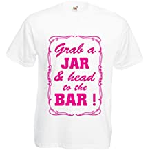N4524 Camiseta Grab a Jar and & head to the Bar!