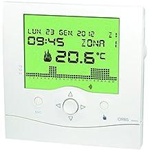 Orbis Athena Blanco Reloj de termostato, OB324200