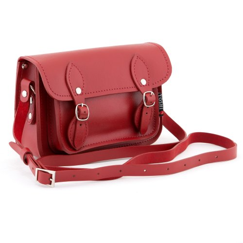 Yoshi Petite besace en cuir The Tilney Rouge - rouge