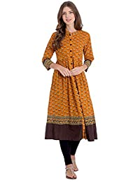 Rapsodia Women's Cotton A-Line Kurta