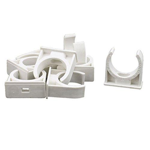 Deal Mux approvisionnement en eau Tube Tuyau de 31 mm PVC Colliers Clip Fitting 8pcs