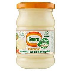 Idea Regalo - Cuore Vegetale Proteine Maionese Vasetto Di Vetro, 180 g